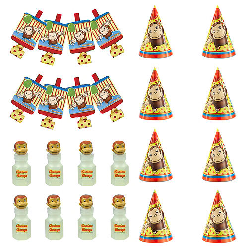 Curious George Party Supplies - Curious George Birthday