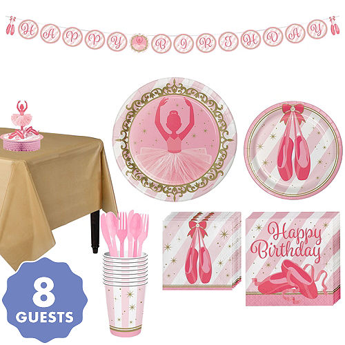 cb6371daa861 Ballerina Party Supplies - Ballerina Birthday Party