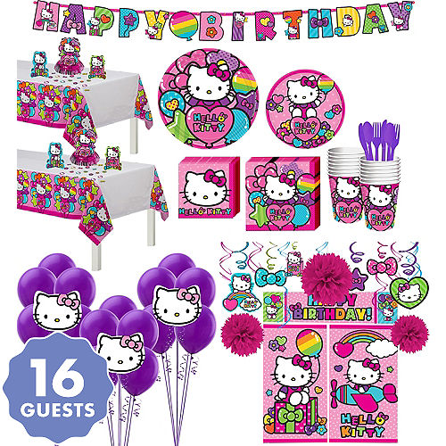 cff7a5b40d Hello Kitty Party Supplies - Hello Kitty Birthday Ideas