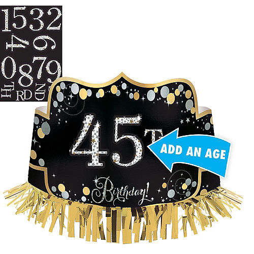 1st Birthday Hats Wearables 1st Birthday Party Supplies Party City