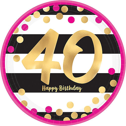 40th Birthday Party Supplies - 40th Birthday Ideas & Themes