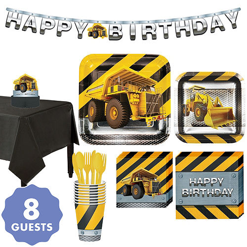 Under Construction Party Supplies - Construction Birthday