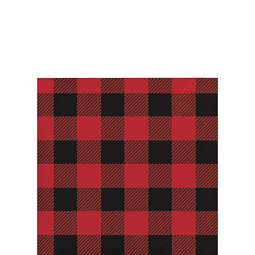 c71976304 Buffalo Plaid Party Supplies - Plaid Lumberjack Party | Party City
