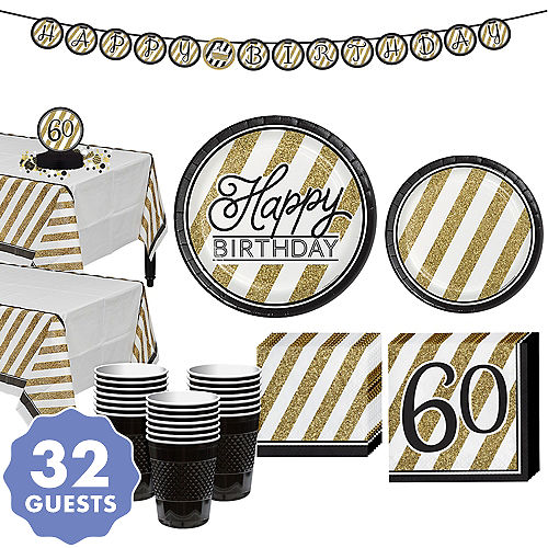 Milestone Birthday Party Supplies Adult Birthday Decorations