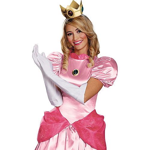dcdb5e60209 Womens Princess Peach Costume Accessory Kit