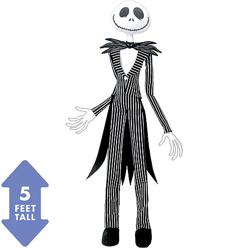 poseable jack skellington hanging decoration the nightmare before christmas - Party City Nightmare Before Christmas Decorations