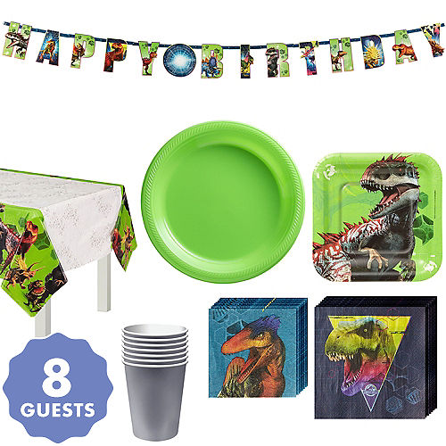 Jurassic World Tableware Kit For 8 Guests