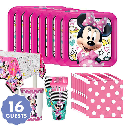 d91477c41 Minnie Mouse Party Supplies - Minnie Mouse Birthday Ideas | Party City