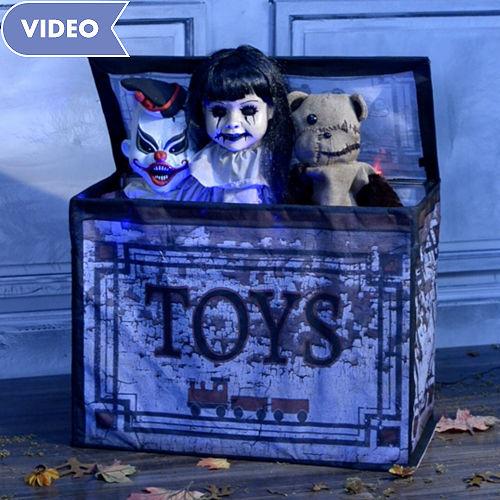 animated haunted toy box