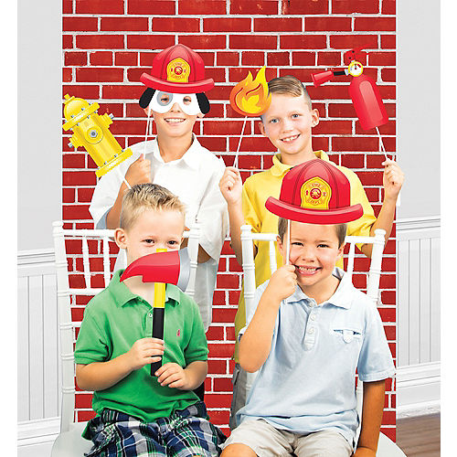 f2350b0f1 Fire Truck Party Supplies - Firefighter Party | Party City