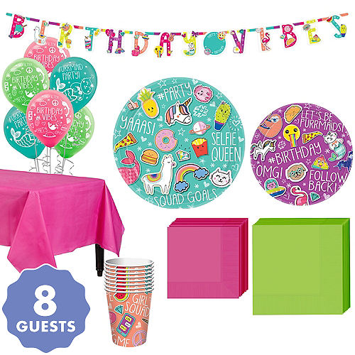 Selfie Celebration Party Kit For 8 Guests