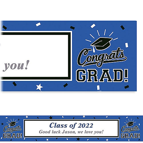 custom graduation banners signs party city