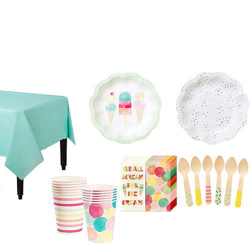 11537a85dcf Ice Cream Party Supplies - Ice Cream Party