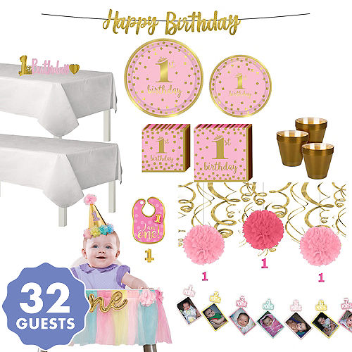 0b52cba7014ca 1st Birthday Party Supplies for Boys & Girls | Party City