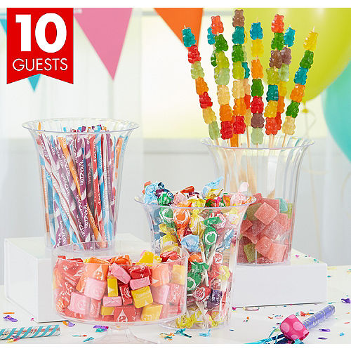 Bright Candy Kit With Containers For 10 Guests
