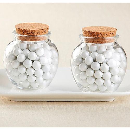Gl Sphere Jars 12ct