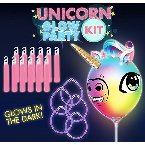 Unicorn Glow Party Kit