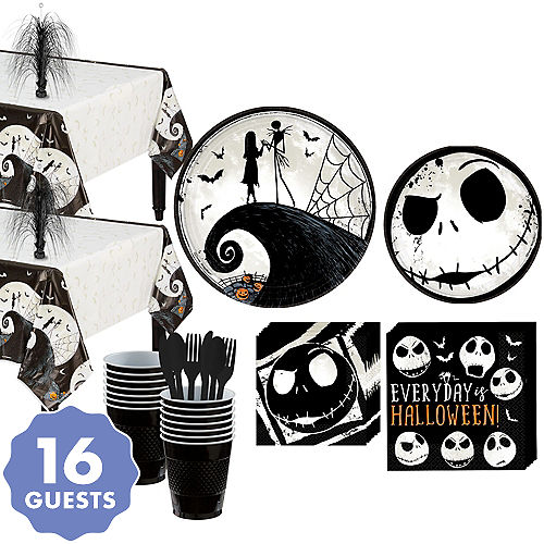 The Nightmare Before Christmas Party Kit for 16 Guests