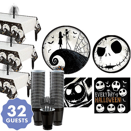 the nightmare before christmas party kit for 32 guests