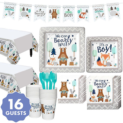 Woodland Baby Shower Party Supplies Party City Canada