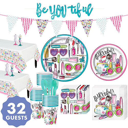 Super Spa Party Kit For 32 Guests