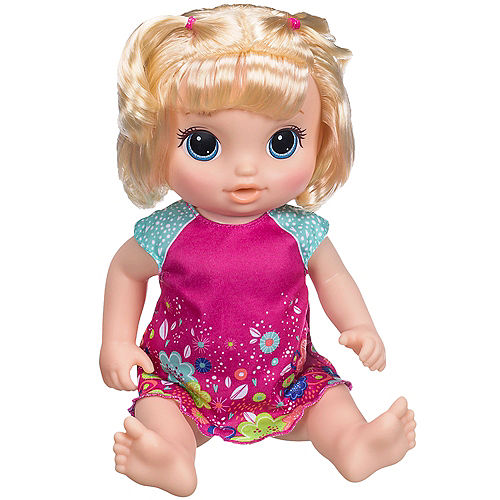ccedf19f59119 Blonde Baby Alive Potty Dance Baby Doll Exclusive Value Pack