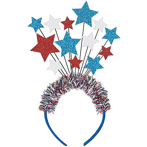 6388b148a830 4th of July Costume Accessories - American Flag Hats   Jewelry ...