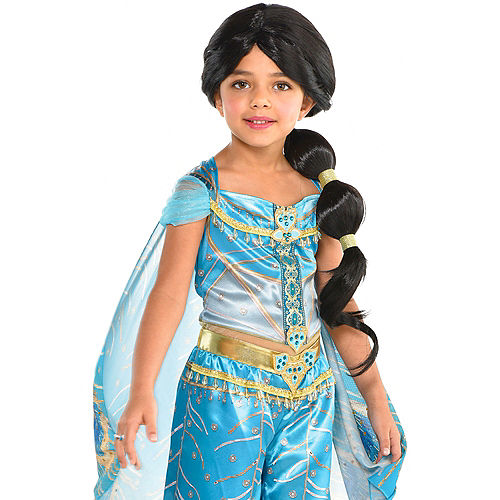 dbcc0c0f3 Child Jasmine Ponytail Wig - Aladdin