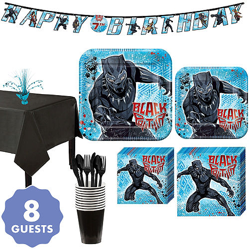 37705121b9e Black Panther Party Supplies - Black Panther Birthday Party