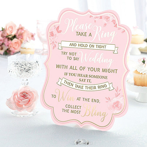 bridal shower ring games set