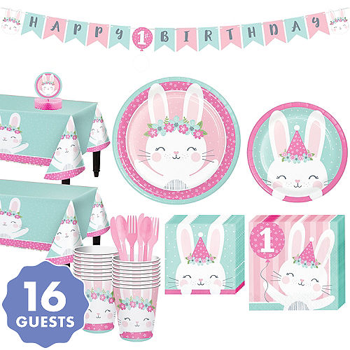 Some Bunny 1st Birthday Party Kit For 16 Guests
