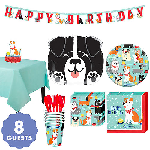 Dog Party Kit For 8 Guests