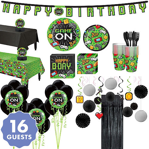 Video Game Party Supplies Gamer Birthday Party City