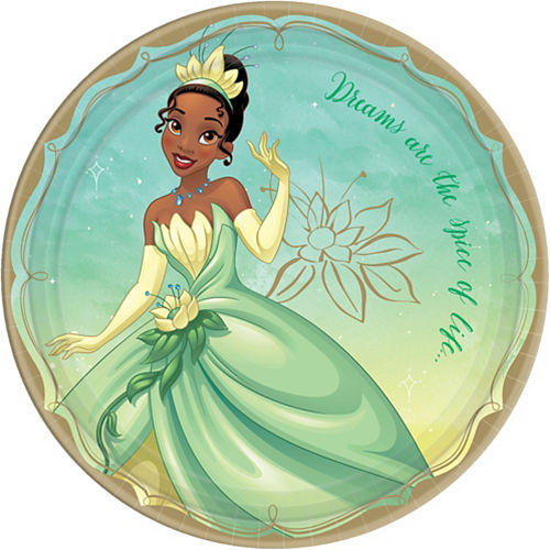 and Table Cover Dinner Plates Ariel Rapunzel Princess Dream Big Party Supplies Pack for 16 Guests Stickers and Cinderella Cups Princess Party Celebrate with Belle Lunch Napkins