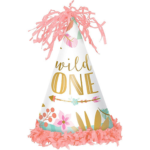 Boho Girl 1st Birthday Party Hat