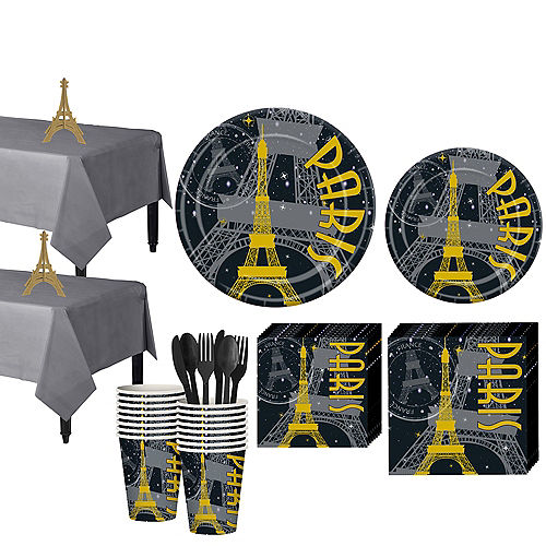 A Day In Paris Party Supplies Party City