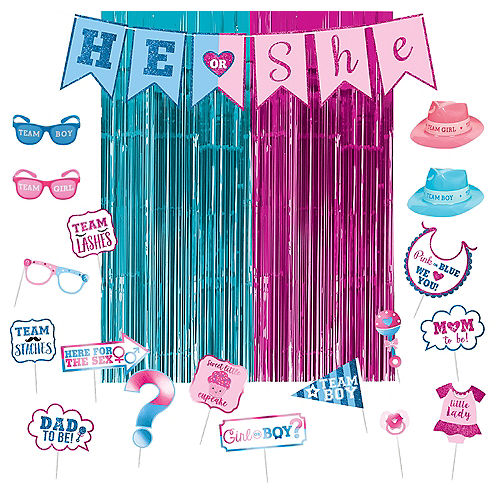 133ee2b453c4 Gender Reveal Party Supplies - Gender Reveal Themes