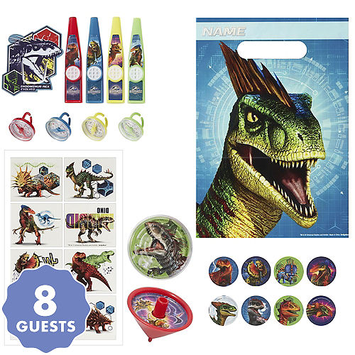 Jurassic World Basic Favor Kit For 8 Guests