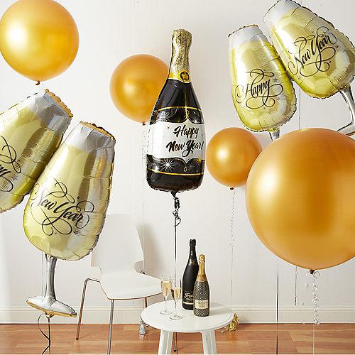 NYE Champagne Balloon Room Kit