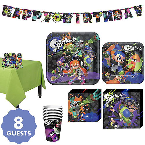 Splatoon Tableware Kit For 8 Guests