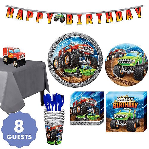 Monster Truck Party Supplies Birthday Decorations Party City