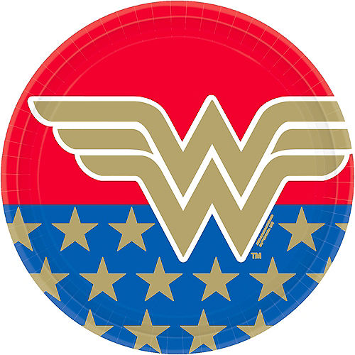 DC Super Hero Girls Party Supplies - Wonder Woman, Supergirl