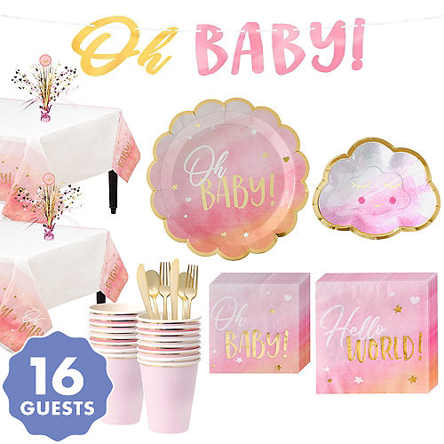 Baby Shower Themes For Girls Party City
