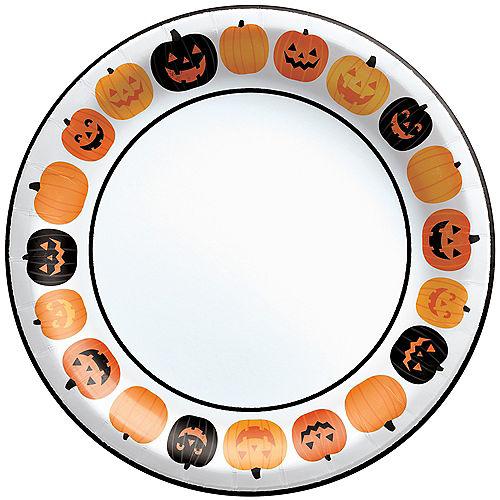 Pumpkin Fun Dinner Plates, 10in, 40ct