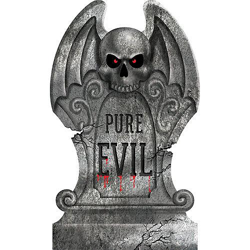 Pure Evil Tombstone