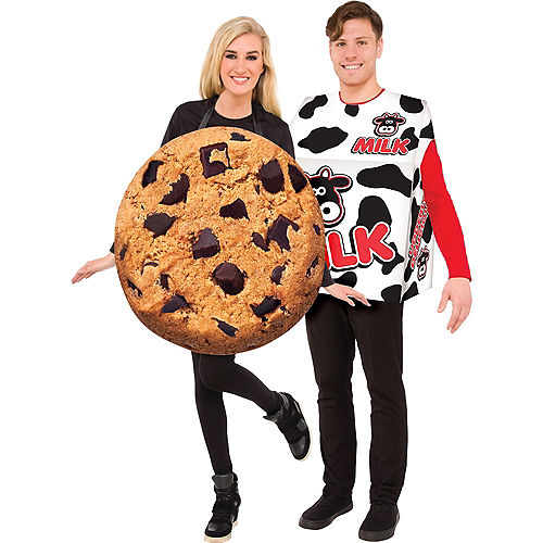 adult cookie milk box couples costumes
