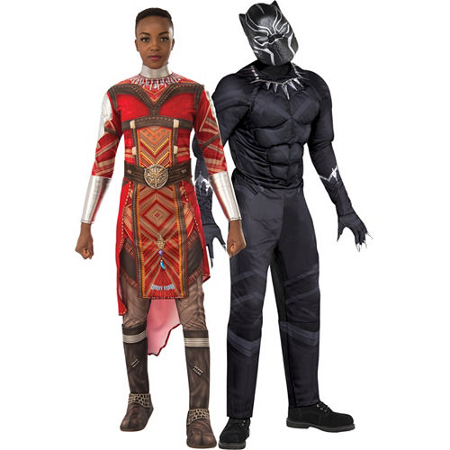 9f3d2ef0e3ed4 Adult Dora Milaje & Muscle Black Panther Couples Costumes - Black Panther