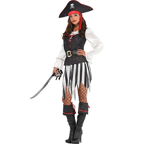 Adult High Sea Sweetie Pirate Costume