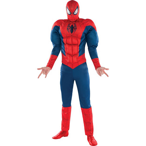 Adult Classic Spider-Man Muscle Costume