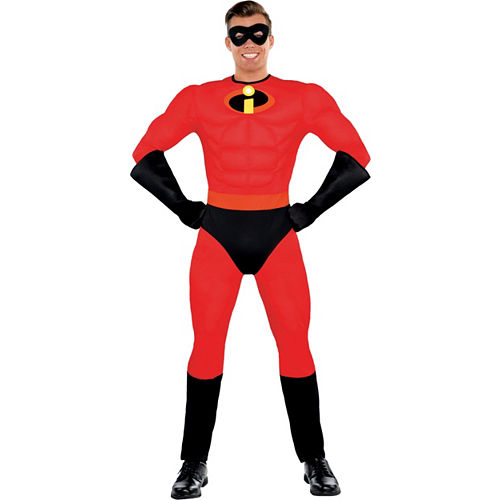 Mens Mr. Incredible Muscle Costume - The Incredibles